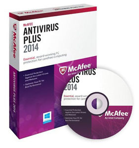 McAfee AntiVirus Plus 2015 (1 yr) (1pc)