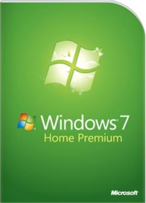 Microsoft Windows 7 Home Premium (32bit / 64 bit) DVD Retail Box (2-4 weeks)