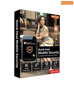 Quickheal Mobile Security for Android Blackberry (1 yr) Licence key
