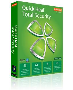 Quick heal Total Security 2016 1 year 1 pc