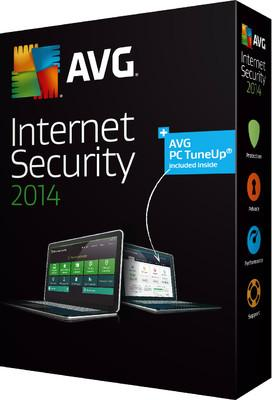 AVG Internet Security 2014 Licence key - 1 year - 3 pc ESD